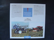 0082) MATROT FRANCE Erntemaschinen - Info-Flyer - Prospekt Brochure 1997