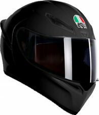 Casco helmet Integrale AGV Full-Face K1 Solid Matt Black Nero Opaco Taglia S