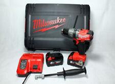 Milwaukee fuel batteria percussione avvitatore m18fpd-502x 2x18v,5,0ah Caricabatteria, HD-BOX