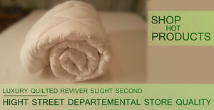 Department store quality  Luxury Mattress Topper Anti Allergy Factory Seconds