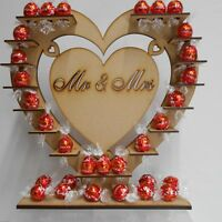 Chocolate Display Stand Wedding  Mr & Mrs