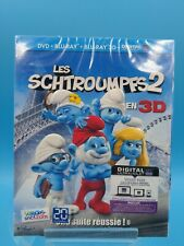 film blu ray neuf les schtroumpfs 2 3D
