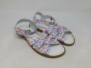 Salt Water Girls Floral Original Sandals Size 6 Big Kid US