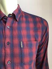 Ben Sherman Shirt, Bristol Plaid, Medium, Excellent Condition
