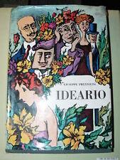 PREZZOLINI Giuseppe, Ideario. Milano, Edizioni del Borghese, 1967