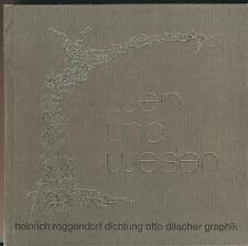 Heinrich Roggendorf: Wein und Wesen - Pfalz (Graphik Otto Ditscher 1977)