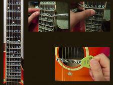 Guitar Inlay Stickers Decals for Beginner
