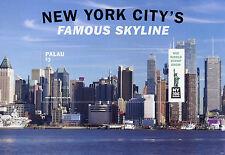 Palau 2016 estampillada sin montar o nunca montada famoso horizonte de la ciudad de Nueva York NY2016 1v S/S rascacielos sellos