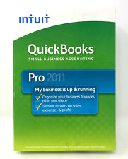 *Brand New & Sealed* INTUIT QUICKBOOKS PRO 2011 for WINDOWS PC FULL RETAIL US