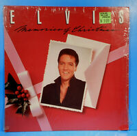 ELVIS PRESLEY MEMORIES OF CHRISTMAS LP 1982 SHRINK GREAT CONDITION! VG++/VG++!!
