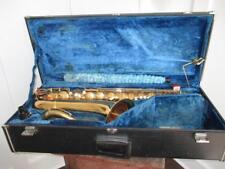 Vintage 1962 Conn 16M Tenor Saxophone W/ Case Very Nice Sax