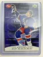 1999 Post Cereal Card Wayne Gratzky New York Rangers Still In Wrapper
