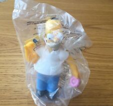 -THE SIMPSONS - Homer Vintage Burger King 2000 toy BNIP