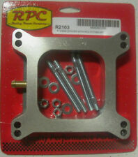 """CHEV FORD HOLDEN RPC HOLLEY 1"""" TALL CARBURETOR SPACER WITH PCV FITTING RPCR2103"""