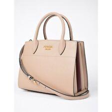 b331e3c7cb28 Prada Saffiano Bibliotheque Crossbody Leather Mini Womens Handbag 1BA071  Beige