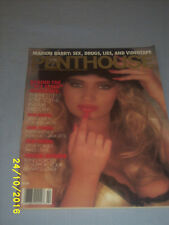 Penthouse Magazine February 1991 Pet of the Month Tara Jackson on the Cover