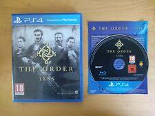 The Order 1886 / PS4 / Complet avec Boite et Notice / VF