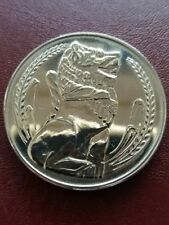 Singapore $1 Dollar Lion Coin of Year 1983, UNCIRCULATED & SUPER NICE Coin