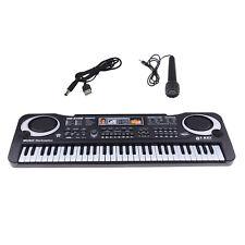 Digital 61 Tasten Keyboard E-Piano Elektronische Klavier Rhythmen Lern Funktion