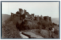 Ruines de château à identifier Vintage citrate print.  Tirage citrate  12x17