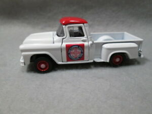 1958 GMC STEPSIDE PICKUP  white  LOOSE 1/64 S SCALE DIE-CAST