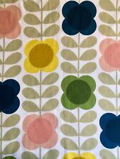 ~ 21cm x 52cm Long ORLA KIELY Summer Stem Flower Multi Lightweight Cotton NEW