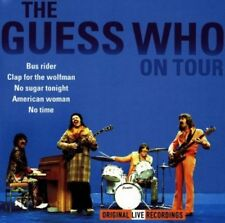 Guess Who On tour (live)  [CD]
