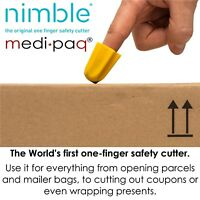 The NIMBLE - Safety Package Parcel Box Letter Parcel Carton Cutter Opener Knife
