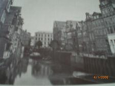 Hamburg - Fotografien von Höge um 1870 - Holländischer Brook, Poggenmühlenbrücke
