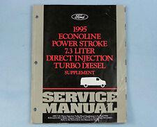 Service Manual Supplement, 1995 Econoline 7.3L Turbo Diesel, FCS-12259-95