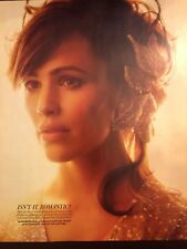 Jennifer Garner 10pg + cover INSTYLE magazine feature, clippings