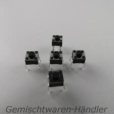 10 Mikrotaster Mikroschalter AUS-(EIN) 4,5x4,5x3,8 mm 0,05A-12V Drucktaster mini
