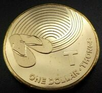 2019 Great Aussie Coin Hunt - UNC $1 coin T for Thongs