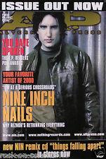 Nine Inch Nails 2000 Alternative Press Magazine Cover Original Promo Poster
