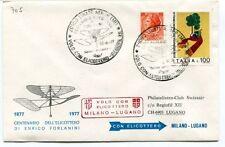 FFC 1977 Volo con Elicottero Milano Linate Lugano Enrico Forlanini Swissair