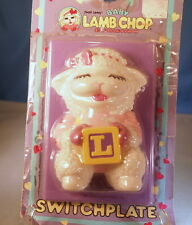 Vintage 1993 Shari Lewis' Baby Lamb Chop Switchplate