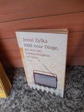 1000 neue Dinge, die man bei Schwerelosigkeit tun kann, ein Roman von Jenni Zylk