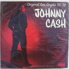 Rockabilly JOHNNY CASH LP x 2 Original Sun Singles 1955-58 AUDIOPHILE 180 gram