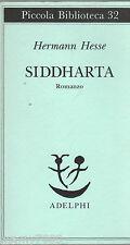 LIBRO=SIDDHARTA=ADELPHI 1994=HERMANN HESSE