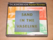 BOITIER 2 CD / TALKING HEADS POPULAR FAVORITES / SAND IN THE VASELINE / TB ETAT