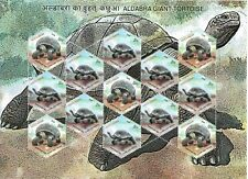INDIA 2008 TYPE 2 (Rs. 15 x 5) ALDABRA GIANT TORTOISE SETENANT STAMP SHEETLET