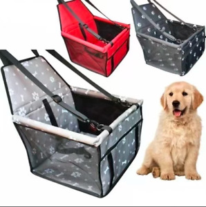 Portable Pet Cat Dog Car Seat Belt Puppy Travel Carrier Folding Hammock Bag