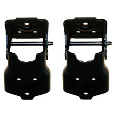 1970-1981 Camaro Firebird 69-75 Impala Lower Door Hinges - Pair New