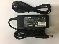 Genuine 65W 19V 3.42A AC Adapter Charger For Toshiba Laptop Power Supply Cord