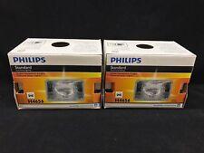 Set of 2: Genuine OEM Philips Standard Sealed Beam Headlights H4656 FREE SHIP