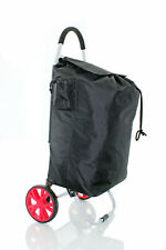 2 Roues Deluxe Pliable Shopping Trolley with Strong Sac & Anti-Poignée coulissan...