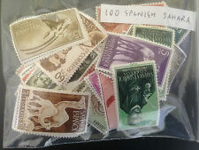 100 Different Spanish Sahara Stamp Collection