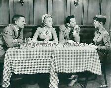1955 The Tender Trap Original Press Photo Debbie Reynolds Frank Sinatra