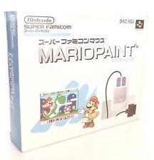 MARIO PAINT + MOUSSE  Nintendo Super Famicom SFC SNES Japan