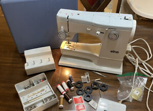 Elna Elnasuper Series 62C Sewing Machine w/ Case And Extras *FAST SHIPPING*